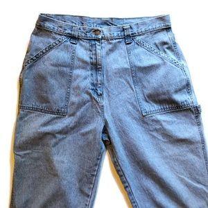 Vintage Mom Carpenter Painters Jeans Size 16